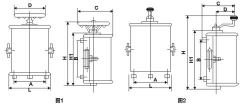kt12-60j/3交流凸轮控制器结构特点