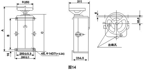 ktj1-80/3凸轮控制器