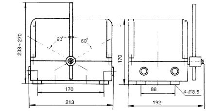 JK16-100系列凸轮控制器外形尺寸